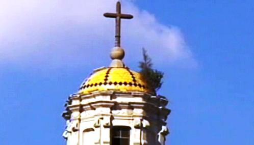 Mexický kostel