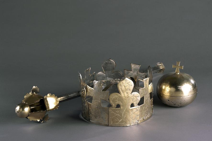Pohřební insignie krále Rudolfa Habsburského