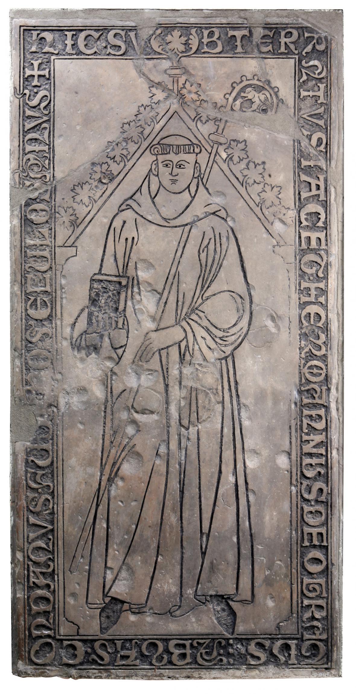 Náhradní deska oswovského opata Heřmana