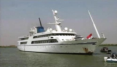 Saddámova jachta Mořský vánek