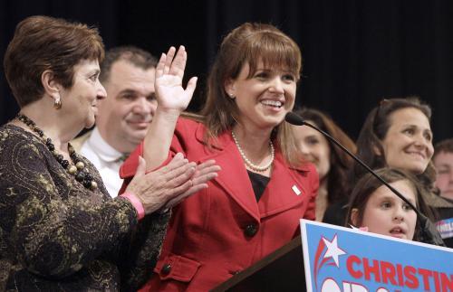 Senátorská kandidátka Christine O\'Donnell