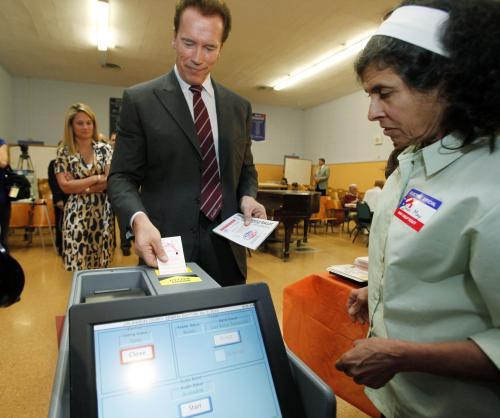 Schwarzenegger u voleb