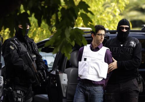 Podezřelý z útoků v Řecku