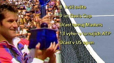 Tenisové úspěchy Karla Nováčka
