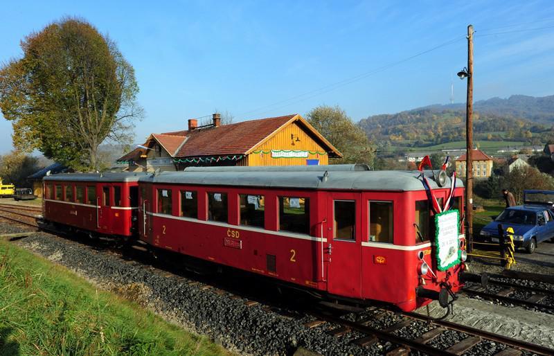 Vlak v Zubrnicích