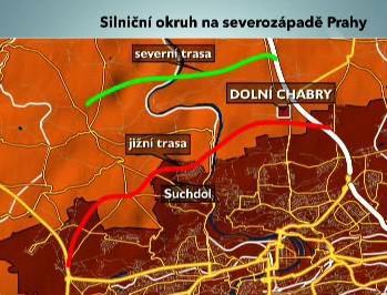 Silniční okruh na severozápadě Prahy