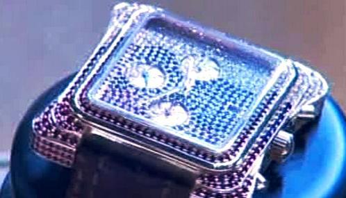Luxusní hodinky na moskevském milionářském veletrhu