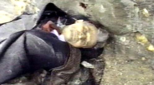 Mrtvý Nicolae Ceaušescu