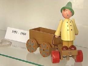 Dřevěné hračky Františka Janoucha