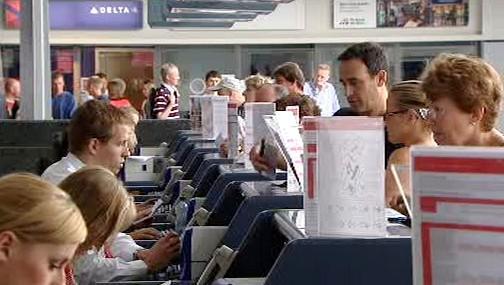 Odbavení na ruzyňském letišti