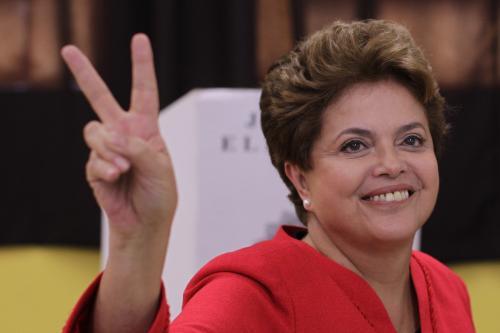 Favoritka brazilských prezidentských voleb Dilma Rousseffová