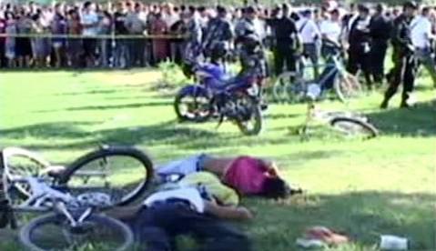 Oběti střelby v Hondurasu