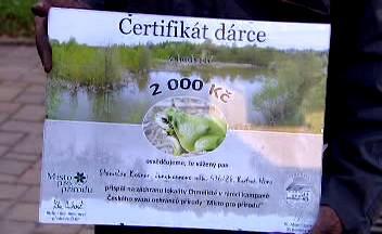 Certifikát dárce