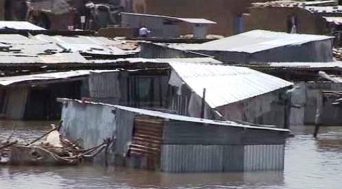Záplavy v Beninu