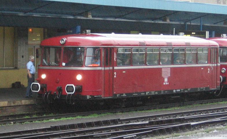 Německý kolejový autobus