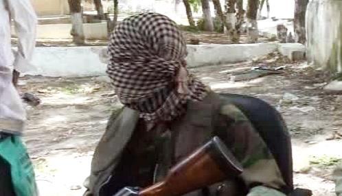 Somálský radikál z hnutí al-Šabáb