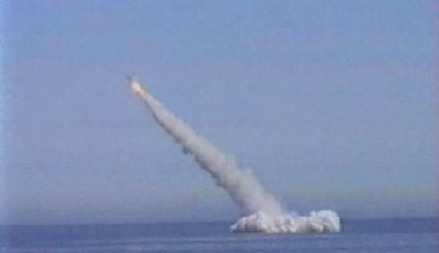 Test strategické rakety Bulava