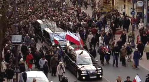 Pohřeb Marka Rosiaka
