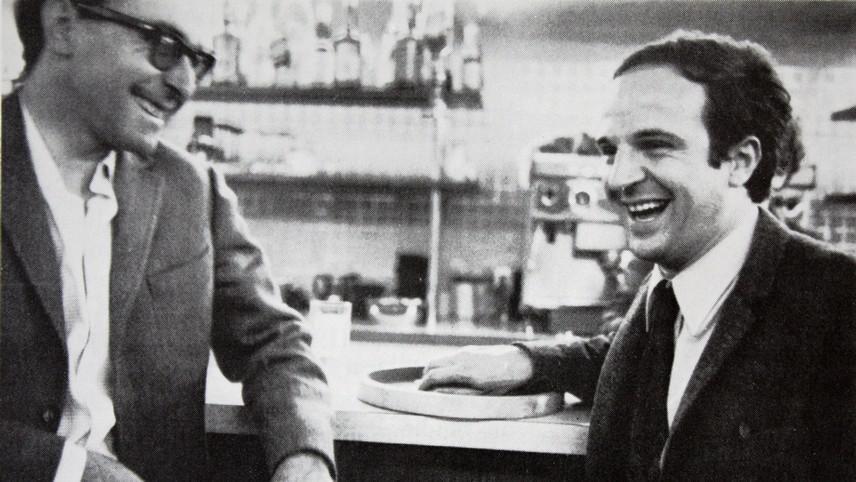 Jean-Luc Godard a François Truffaut