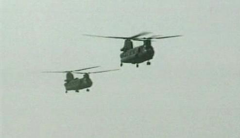Vrtulníky NATO v Afghánistánu
