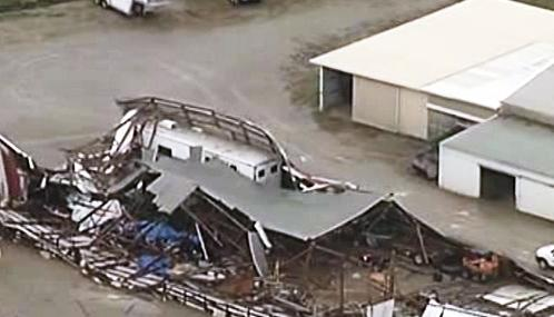 Následky bouře na středozápadě USA