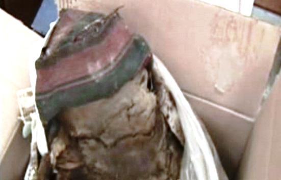 Incká mumie zabavená na poště v Bolívii