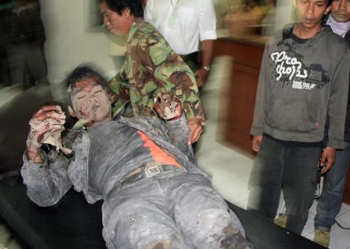 Oběť erupce indonéské sopky Merapi
