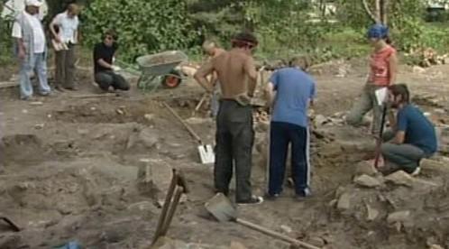 Práce archeologů