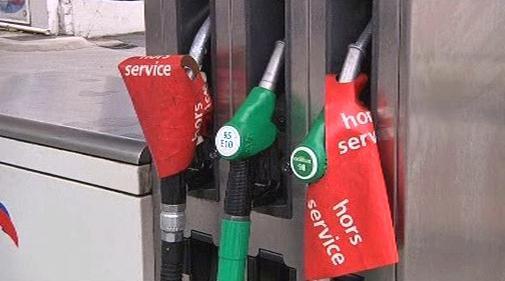 Nedostatek benzínu ve Francii