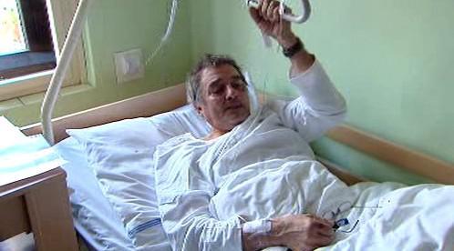 Hospitalizovaný exstarosta Otakar Šebek