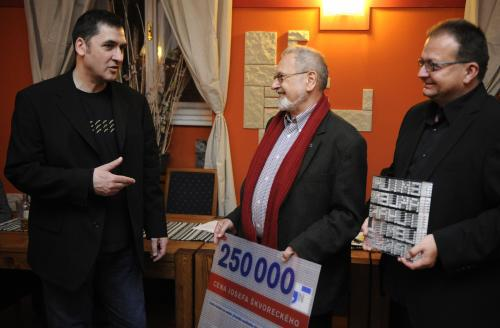 Předávání Ceny Josefa Škvoreckého 2010