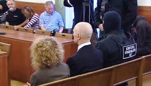 Jozef Roháč u soudu