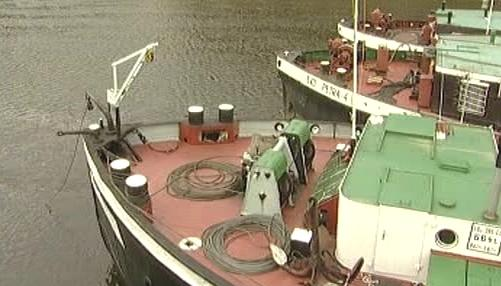 Loď na Labi