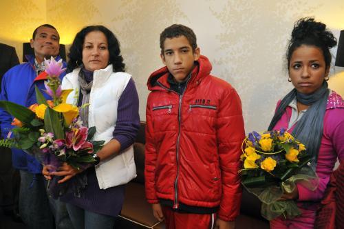 Rodina kubánského disidenta
