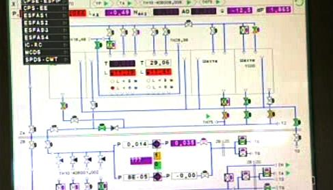 Řídící systém jaderné elektrárny Búšehr