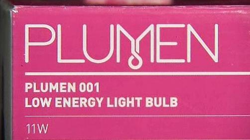 Úsporná žárovka Plumen 001