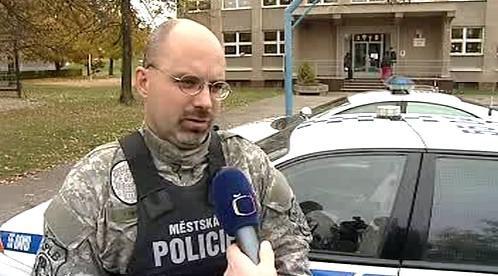 Obviněný strážník Pavel Řehoř