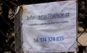Policie prodává nepotřebný majetek