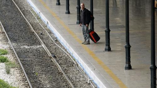Železnice zejí prázdnotou