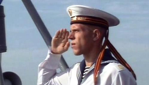 Námořník ruské černomořské flotily