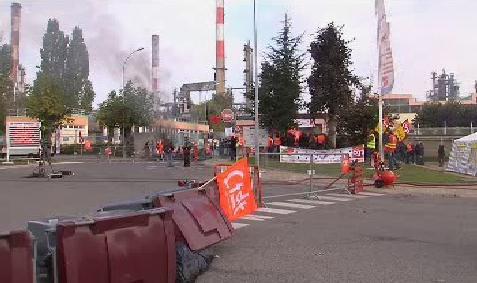 Blokáda rafinerie