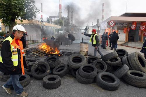Francouzská blokáda rafinerií