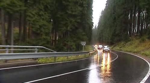 Nově opravená silnice