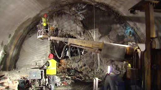 Ražba tunelového komplexu Blanka
