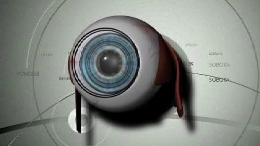 Oční rohovka