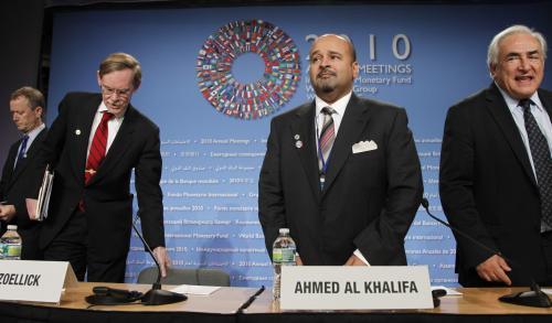 Summit MMF a Světové Banky