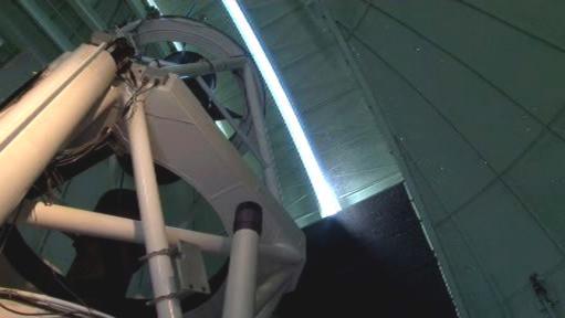 Teleskop v chilské poušti