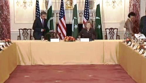Americko-pákistánská strategická jednání