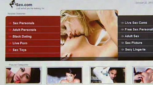 Stránky Sex.com