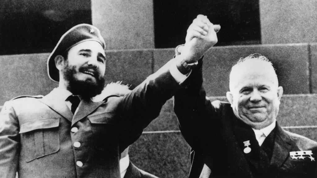 Fidel Castro a Nikita Chruščov